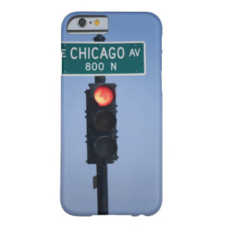 Red light, Chicago Illinois, USA Barely There iPhone 6 Case