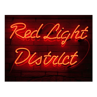 Red Light District Postcard