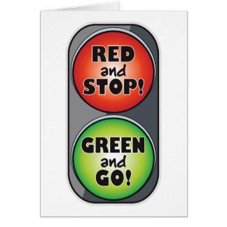 Red Light Green Light Card