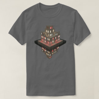 Red Light Reflections 01 Architecture concept art T-Shirt