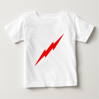 Red Lightning Baby T-Shirt