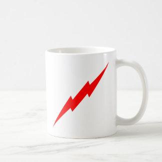 Red Lightning Coffee Mug