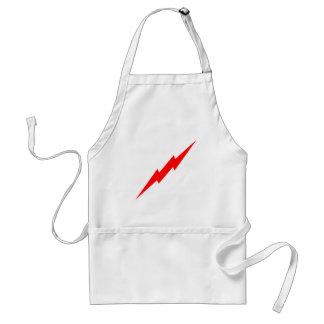 Red Lightning Standard Apron