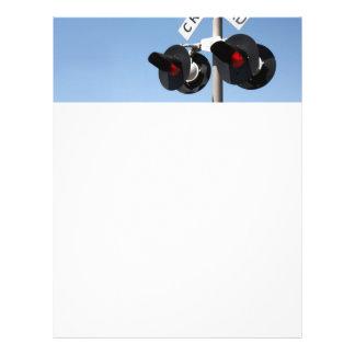 Red Lights Flyer Design