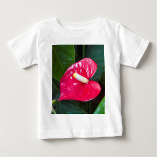 red lily baby T-Shirt