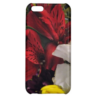 Red Lily Bouquet iPhone 5 Case