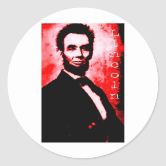 Red Lincoln Stickers