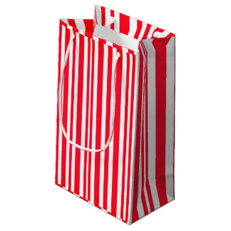 Red Lined Gift Bag