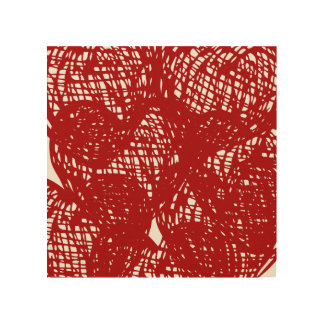 """Red lines"" Wall Decor"