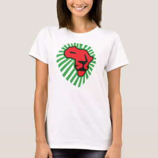 Red Lion Green Mane This Time for Africa Shirt