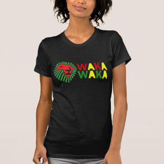 Red Lion Green Mane Waka Waka Shirt