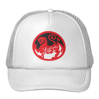 Red Lion Yin and Yang Hat Trucker Hat