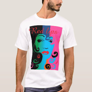 Red lips 2 T-Shirt