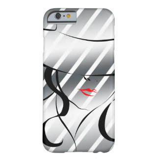 Red lips barely there iPhone 6 case