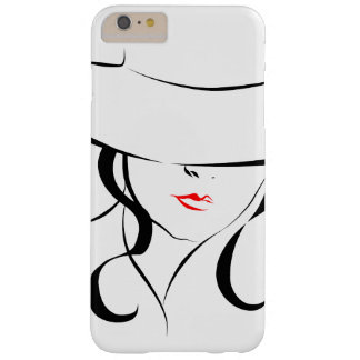 Red lips barely there iPhone 6 plus case