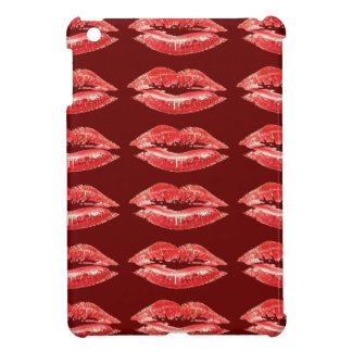 Red Lips Kiss iPad Mini Case