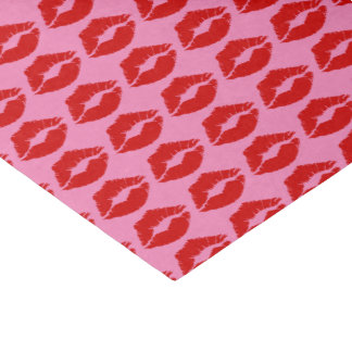 """Red Lips Kiss"" Tissue Paper"