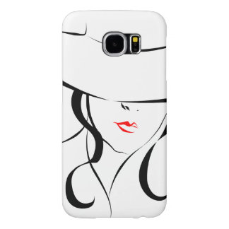 Red lips samsung galaxy s6 cases