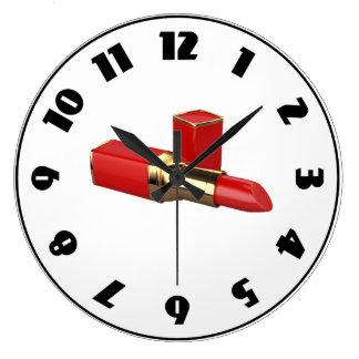 Red Lipstick Clock