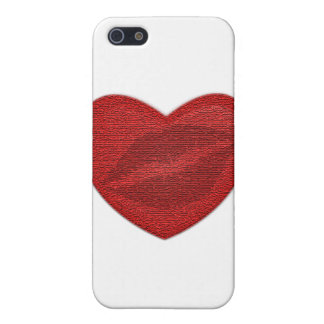 Red Lipstick iPhone 5 Cover