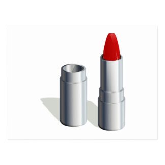 Red Lipstick Post Card