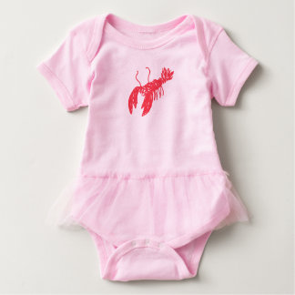 Red Lobster Baby Bodysuit