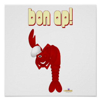 Red Lobster Chef Bon Ap Posters