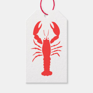 red lobster gift tags