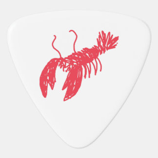 Red Lobster Plectrum