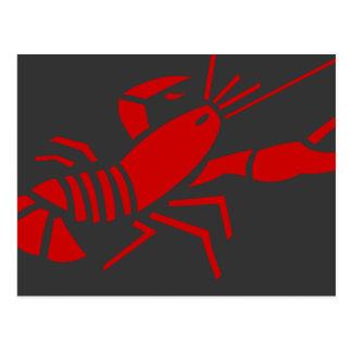 Red lobster postcards