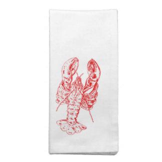 Red lobster Seafood napkins