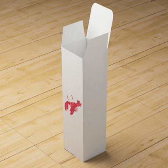 Red Lobster Wine Box