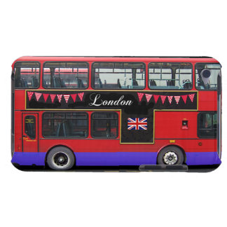 Red London Bus Double Decker iPod Touch Covers