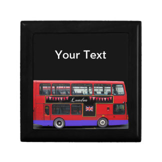 Red London Bus Double Decker Gift Box