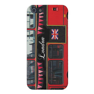 Red London Bus Double Decker iPhone 5/5S Cover