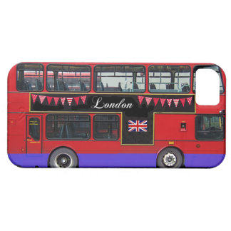Red London Bus Double Decker iPhone 5 Cover