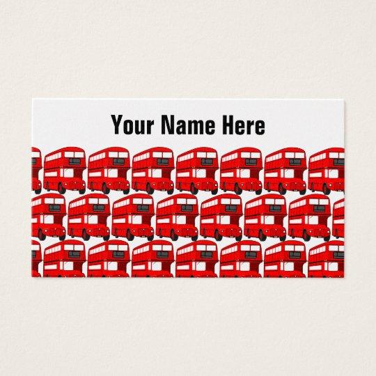 Red London Double Decker Bus Travel Wallpaper Business