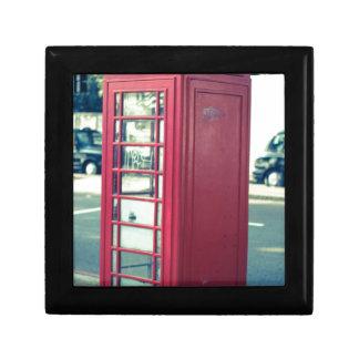 Red London Telephone Box