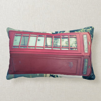 Red London Telephone Box Cushion