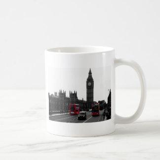 red London Tour bus and Big Ben Coffee Mug