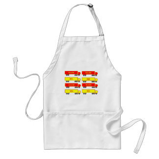 red lorry yellow lorry apron