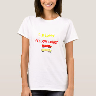 red lorry yellow lorry tshirt