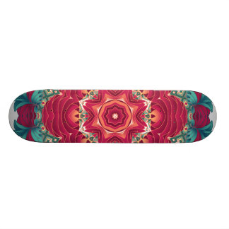 Red Lotus Mandala Skateboards
