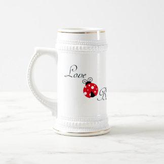 Red Love Bug - Ladybug Beer Steins