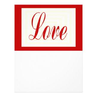red love 21.5 cm x 28 cm flyer