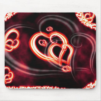 Red Love Mouse Pad