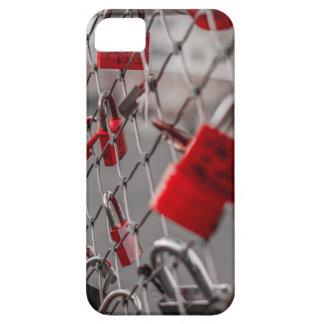 Red Love Padlocks iPhone 5 Cover