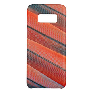 Red Macaw Feather Abstract Case-Mate Samsung Galaxy S8 Case