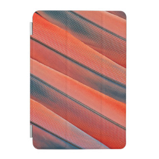 Red Macaw Feather Abstract iPad Mini Cover