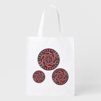 Red Machinery Reusable Grocery Bag